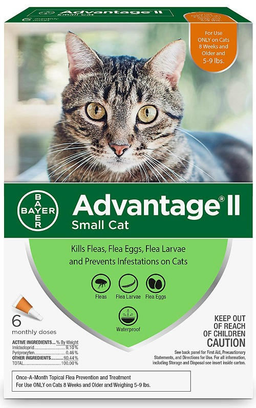 Advantage II Flea Control box